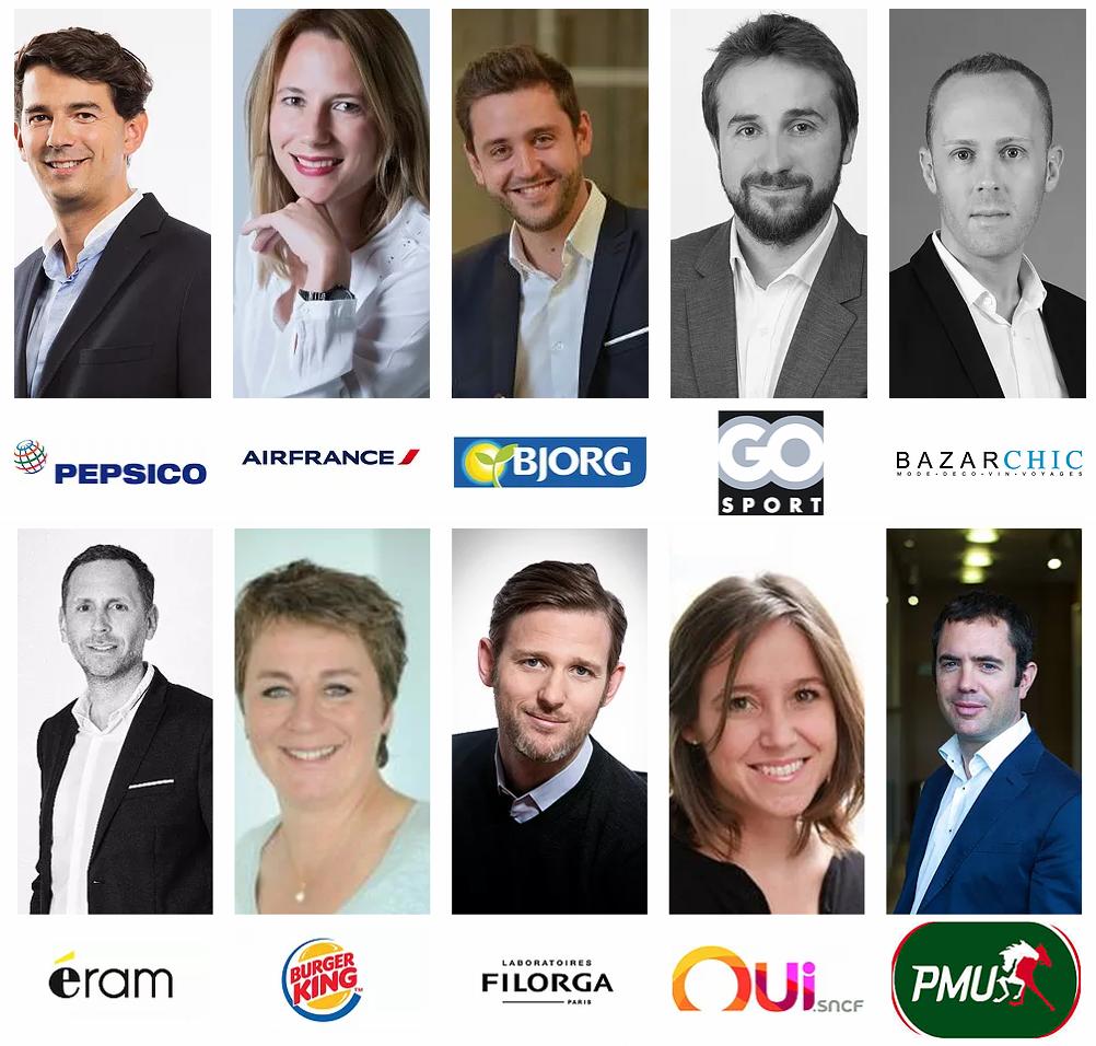Les personnalités marketing en lice pour les Trophées Marketing 2018