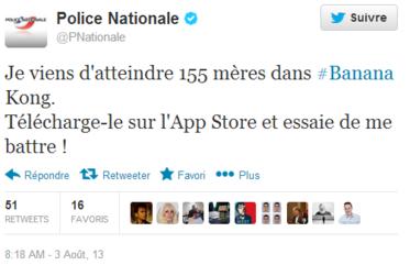 tweet Police nationale
