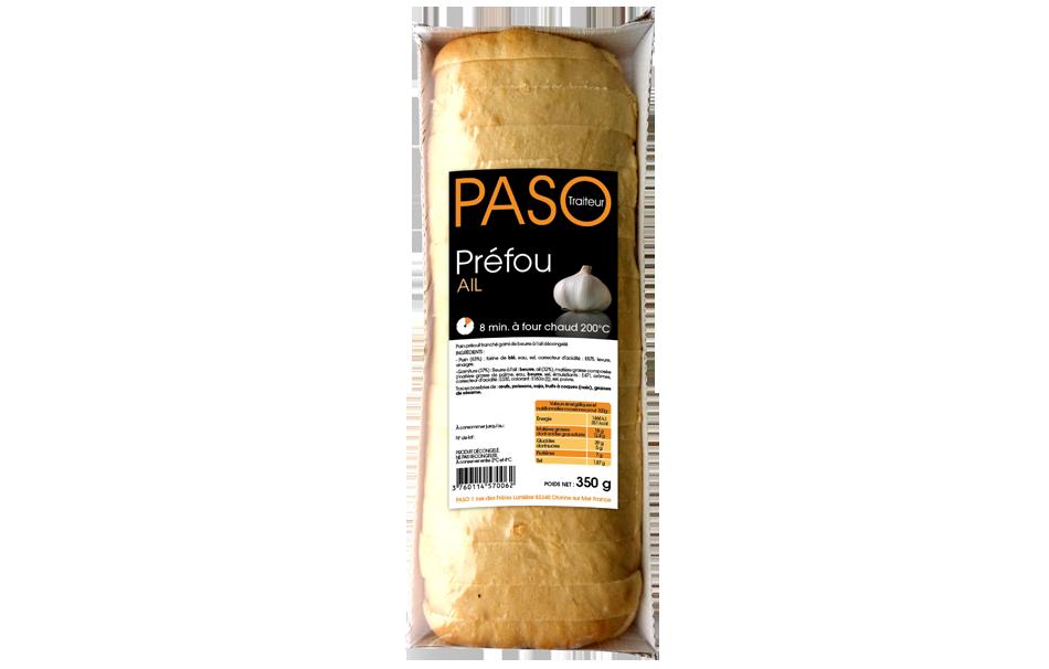 Prefou, produit phare de la marque PASO