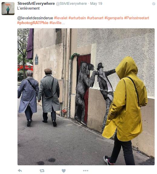 Les twittos postent leur plus belle photo de la ville avec le hashtag photogratphie