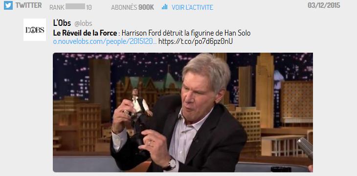 """Han Solo, personnage au fort capital sympathie, incarné par l'acteur le plus """"bankable"""" de l'équipe"""