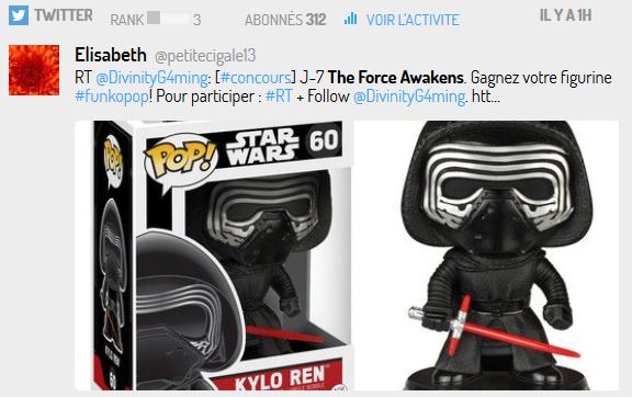 Le merchandising Star Wars s'accompagne quasi systématiquement d'une promotion via les jeux concours