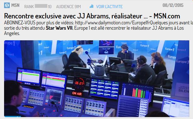 J.J Abrams a été la 1ère personne à diffuser des images sur les réseaux sociaux à propos de l'épisode VII