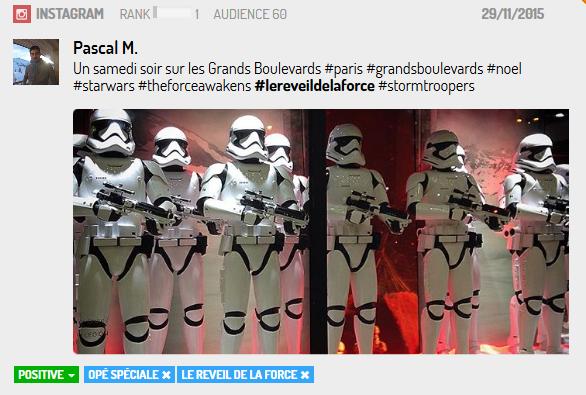 Les StormTroopers ont accompagné plusieurs événements Live à Paris ou...