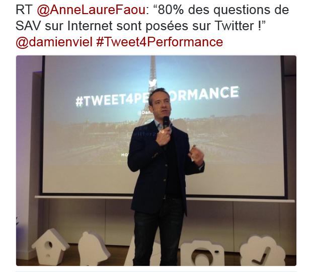 Damien Viel, DG Twitter France : 80% des questions SAV sur internet sont posées sur Twitter !