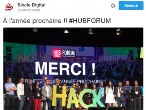 Hubforum : rendez-vous l'année prochaine