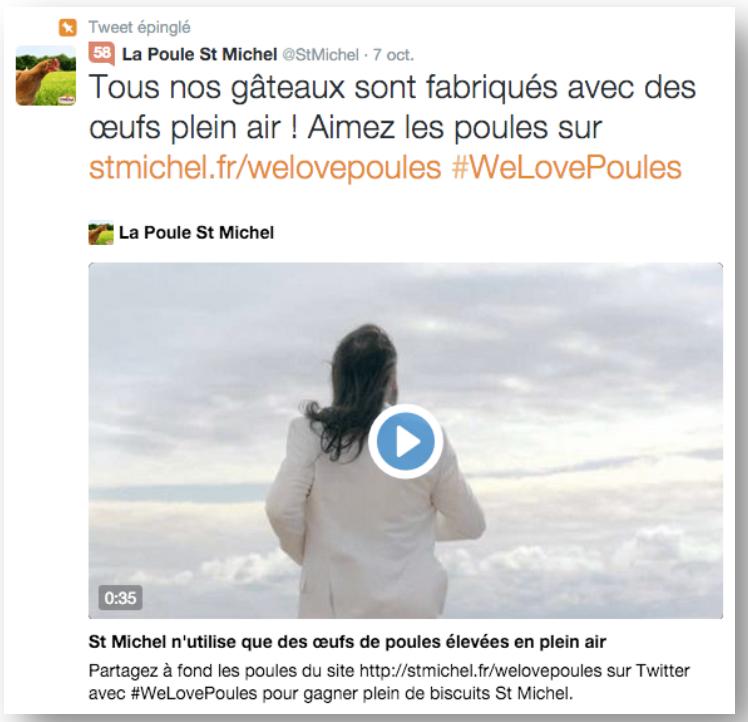 """La campagne """"We Love Poules"""" de la marque St Michel"""