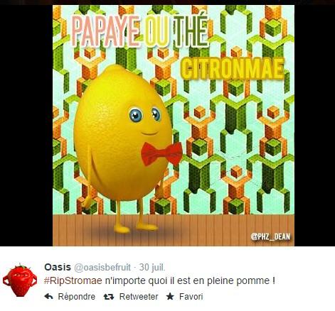Papaye ou thé oasis stromae