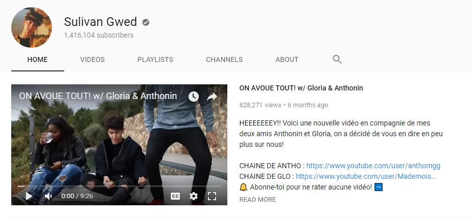 sulivan gwed youtube