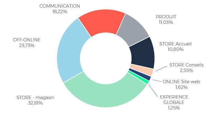 Catégorisation des conversations consommateurs par thèmes d'expérience client