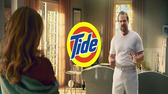 photo of a tide commercial