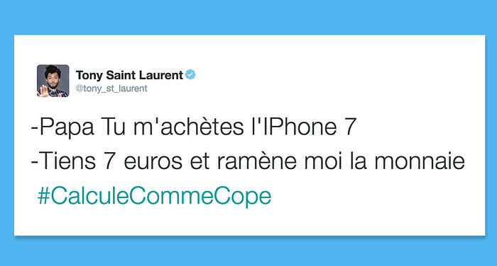 Tweet humour #calculecommecope