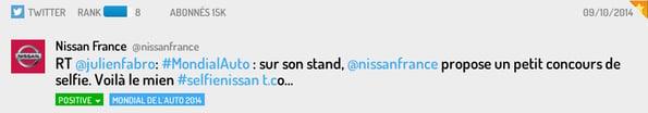 Tweet Nissan France