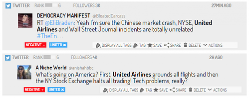 twittter united airlines