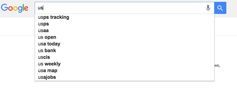 U.S.-Google-search