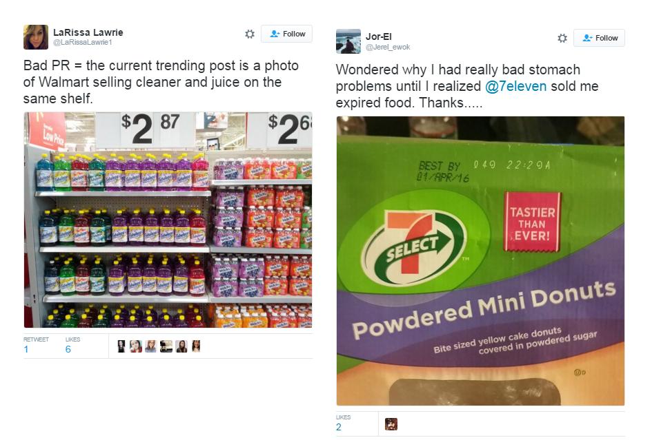 Comparación de supermercados en EEUU