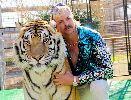 Joe Exotic in Digimind Streaming Blog