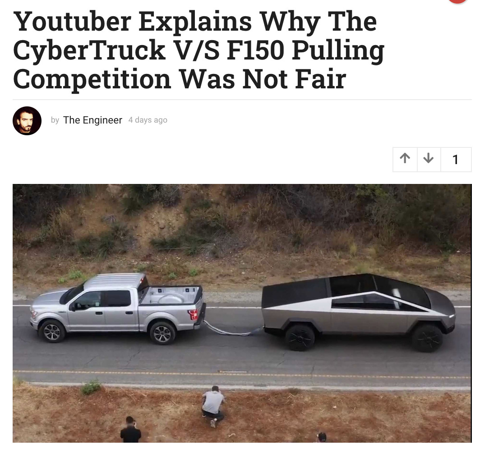 Youtuber debunking Ford versus Tesla claims