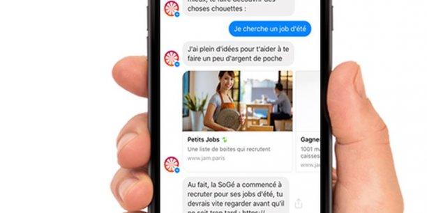 chatbots JAM en smartphone