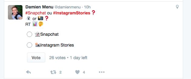 Comparativas sobre Stories de Instagram y Snapchat