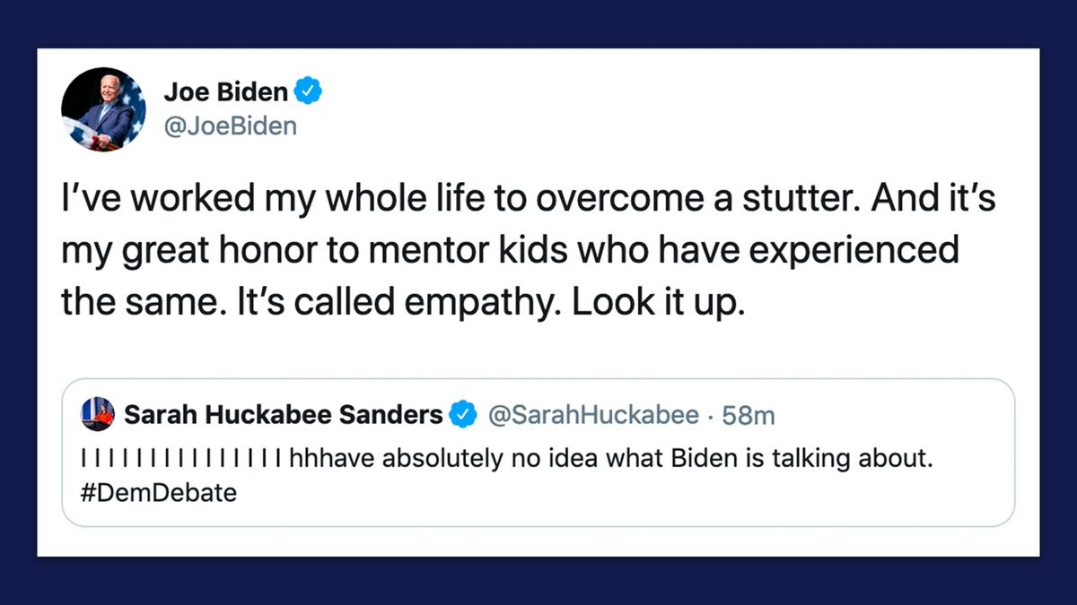 Joe Biden tweet