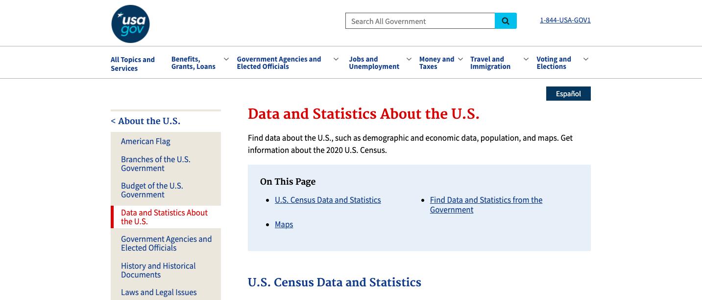 USA.gov Platform
